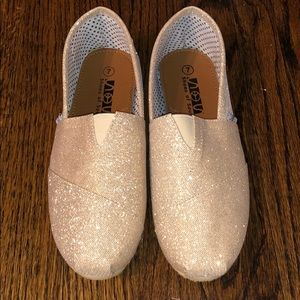 COPY - New gold sparkle flat